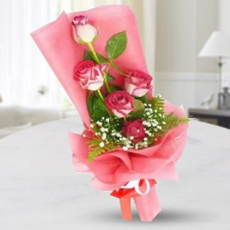 Cheery Pink Bouquet